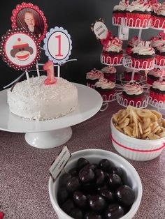 Hostess with the Mostess® - Sock Monkey First Birthday Party