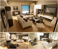 Awesome Male Living Space, Remodel, Design & Ideas. You Must Try It! #livingspace