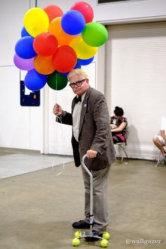 Walter from UP #cosplay at Boston Comic Con 2015 - Tom DeRosa