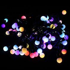 Warm white/Blue led light string bulb light outdoor for Christmas party wedding