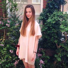 @aa_amsterdam employee Charlotte in the new Adia dress.