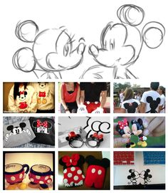 Minnie and Mickey cute couple stuff <3