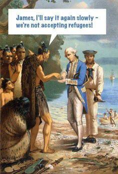 No refugees LOL.