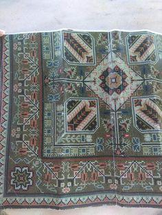 Cross Stitch Charts, Cross Stitch Patterns, Cross Stitching, Cross Stitch Embroidery, Needlepoint, Bohemian Rug, Mandala, Pillows, Rugs