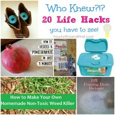 Who Knew? 20 Life Hacks You Have To See #lifehacks #diy