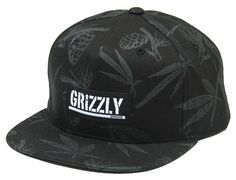Grizzly Garden Snapback Cap by GRIZZLY