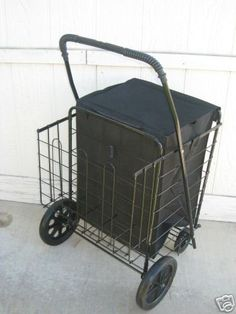 Extra Large heavy-duty folding Cart with matching Liner -Basket Cart -Jumbo size DLUX http://www.amazon.com/dp/B002C7U6UI/ref=cm_sw_r_pi_dp_CEpkub15GRS0Q
