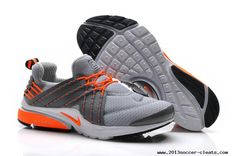 the latest a92eb 46d62 Mens Nike Lunar Presto Grey Orange Shoes For Wholesale