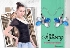 Alilang has great earrings and cute tops to choose from.   You can win a gift card up to $250.00 for Alilang just by entering your favorite outfit or picture at http://modera.co/profiles/Alilang