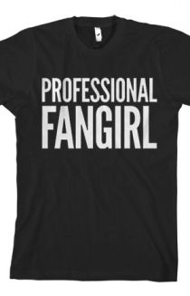 Professional Fangirl T-Shirt - Tyler Oakley T-Shirts - Official Online Store on District Lines