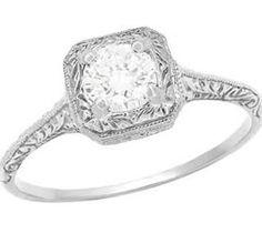 art deco vintage antique engagement rings for sale - Google Search