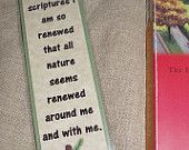 Thomas Merton Bookmark Nature Scripture Quote Bookmark Phrase sage green Bible Sunday School Teacher Gift Pastor Book Club Stocking Stuffer
