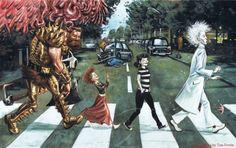 The Endless by Tom Fowler - Visit: http://angelakamcomicart.wordpress.com/