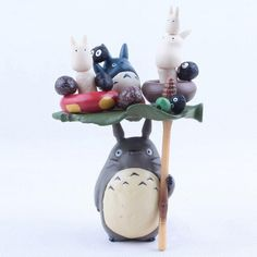 Totoro Dolls PVC Action Figure Collectible Model Toy Doll