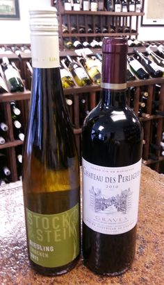 Howdy Neighbor! Weekly wine tasting to feature wines from Germany and its neighbor France. Thursday and Friday from 4 - 7.
