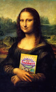 Now we know why Mona Lisa has that little smile on her face finally!