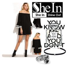 """""""Shein!"""" by vanessaperez0413 ❤ liked on Polyvore featuring Chanel, Carbon & Hyde and Yves Saint Laurent"""