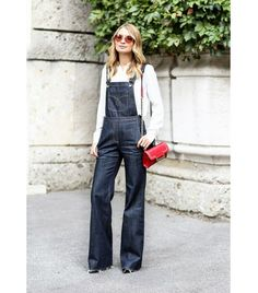 How to wear overalls... [ Find. Shop. Discover. www.specialteesboutique.com ]
