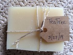 Soap - Tea Tree Bar