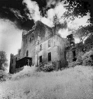 Leap Castle. Nr. Birr. Co. Offaly  The Most Haunted Castle in Ireland - Reading about this on their blog gives me the chills. It's very scary!