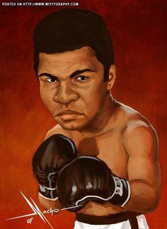 Cassius Marcelus Clay / Muhammad Ali