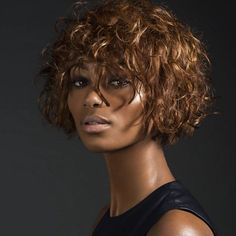 The Coolest Haircuts From Around The World #refinery29  http://www.refinery29.com/hair-trends-paris-tokyo-london#slide-10  Hair Lounge, London The Cut: A short, curly shag with soft fringeBest For: Fine, curly hairBangs on curly hair is such a great look, especially on this rounded bob-shag hybrid done by Charlotte Mensah. Again, shaping is key for this cut —...
