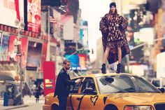 cara delevingne and ollie edwards by mikael jansson for dkny f/w 13.14