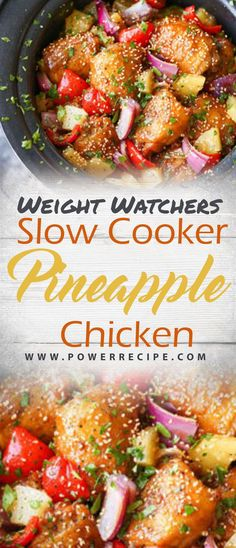 Slow Cooker Pineapple Chicken - All about Your Power Recipes