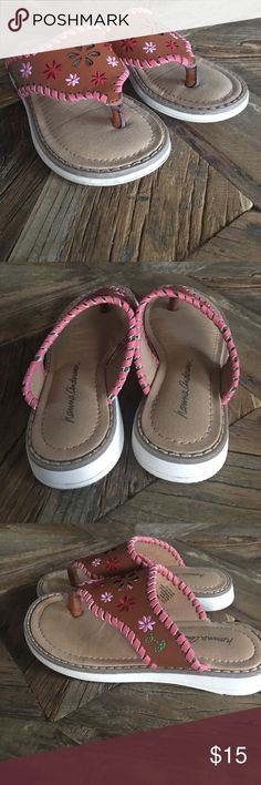Hanna Andersson leather sandals Adorable! Worn once. Like new condition. Hanna Andersson Shoes Sandals & Flip Flops