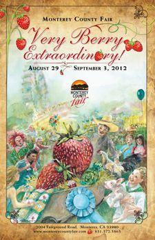 2012 Monterey County Fair poster