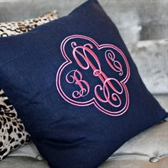 Monogram anything, I'll take it