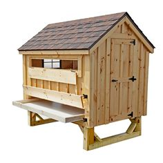 Backyard Chicken Product: Chicken Coops - Cottage Style 4x6 chicken coop (up to 15 chickens) - from My Pet Chicken