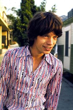 Mick Jagger in Hollywood, 1969, Photo by Robert Altman.