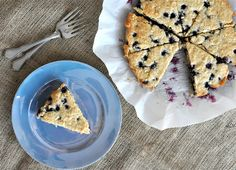 Paleo Blueberry Scones | Fed and Fit