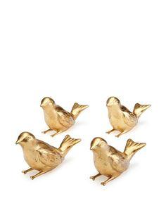 gold birds