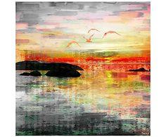 Принт на холсте Birds in the Sunset - холст