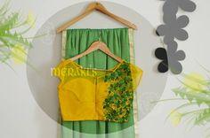 Beautiful yellow and mint green saree.!!  22 November 2016