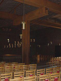 Church of Saint Peter, Klippan, Sweden, Sigurd Lewerentz, 1966