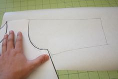 how to draft a sleeve