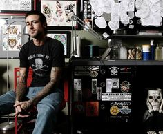 Tim Hendricks. One of my favorite tattoo artists. Love him.