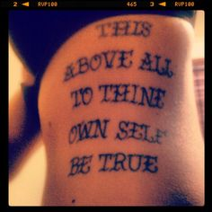 1000 images about literary tattoos i love on pinterest for Above all tattoo