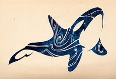 Tribal Orca 2015 by Takihisa on DeviantArt Orca Tattoo, Whale Tattoos, 1 Tattoo, Body Art Tattoos, Killer Whale Tattoo, Killer Whales, Tribal Art Tattoos, Arte Haida, Haida Art