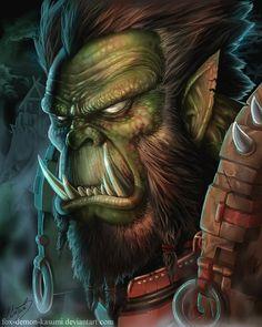 warcraft__orc_portrait_by_fox_demon_kasumi-d4mjc9n.jpg (800×1000)
