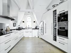 Moderne køkken i klassisk stil