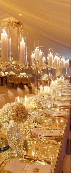 Luxury table setting #Luxurydotcom