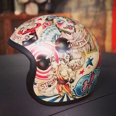 Colour Helmet - Pin by Corb Motorcycles