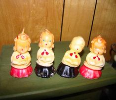 Vintage Christmas Choir candles Christmas by TheGayDivorcee