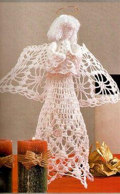 Crochet Adornos de Navidad
