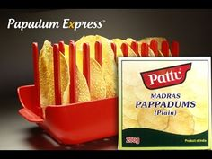 Papadum Express® - Pattu Madras Pappadums. Microwave cook 10 papads in 4...