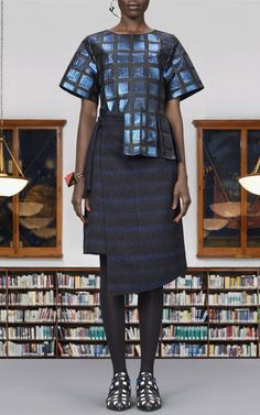 Lurex Squares Jacquard Top by Kenzo for Preorder on Moda Operandi